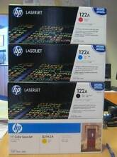 HP 122A LaserJet Toner Cartridge x 4 - SELL AS-IS Malaga Swan Area Preview