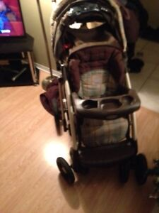 Two Strollers and car seat can deliver