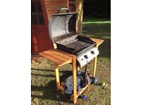 Used gas BBQ.