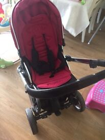 Oyster 2 pushchair and buggy board