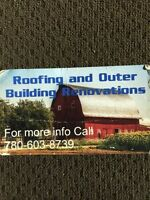 Roofing & outer building renovations