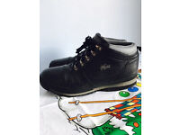 Lacoste men's leather boots,immaculate,cost £155,size UK 9,only £45,no offers or time wasters please
