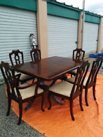 Dininng set Baetz Solid wood - Delivery available