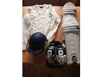 Junior cricket items