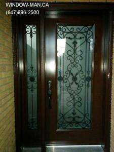 Door Side Entrance Front Window  supplier and installer