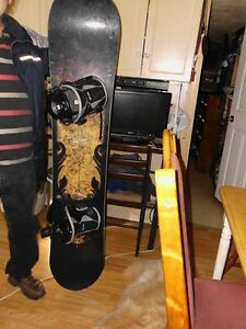 orum Snowboard and Flow bindings for sale negotiable might consi