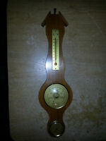 BAROMETER,THERMOMETER IN GOOD CONDITION ONLY 15$