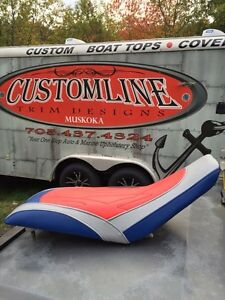 Snowmobile and atv seat cover