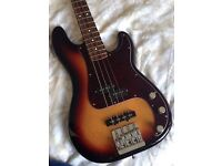 Fender Precision Bass With Upgrades