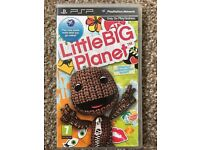 Sony PSP game Little Big Planet.