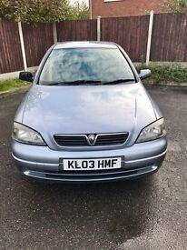 Vauxhall Astra 2003 1.6 petrol motd ready to drive away