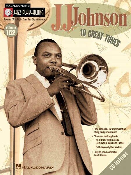J.J. Johnson Jazz Play Along Book and CD NEW 000843210