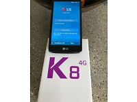 LG K8 mobile phone for sale