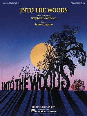 Into the Woods Revised Edition Sheet Music Vocal Selections Book NEW 000313442 on Rummage