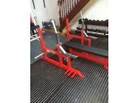 Bench press, powerlifting spec bench, adjustable bench, gym, weights
