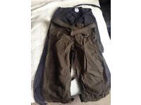 Maternity combat trousers size 8/10