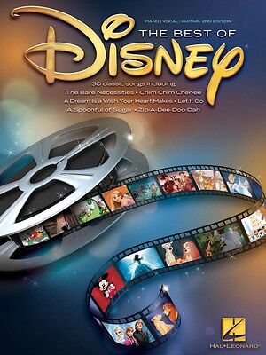 The Best of Disney Sheet Music Piano Vocal Guitar Songbook NEW 000359192