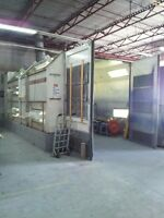 OLDER DEVILBISS AUTO SPRAY BOOTH