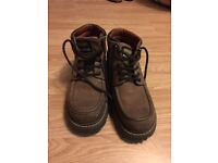 Wrangler leather shoes mid