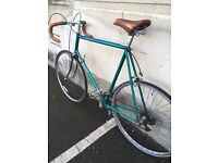 "Vintage 531 Retro Road Bike. 25"" Racer. Eroica suitable."