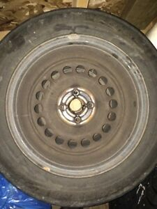 4 x four bolt steel rims off Pontiac G5