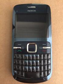 Nokia C3 moible phone C3-00 Excellent Condition