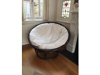 Round Wicker Chair