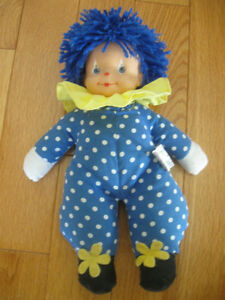 ADORABLE LITTLE HAPPY-FACE CLOWN DOLL COLLECTIBLE