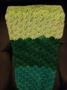 Mermaid tail blanket/photo prop Windsor Region Ontario image 2