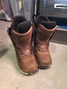 Burton/Red Wing Ion boots 10.5