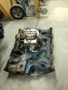 Ford 390  2BBL intake manifold and Carb
