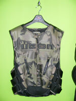 ICON - CAMO - Regulator Vest with Back Protector at RE-GEAR