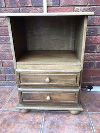 Small Oak Cupboard.