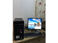 Gaming Pc Advent core i5/2320 cpu 3.00 Ghz with 6 GB Ram and 1500 GB hard