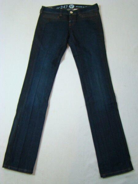 NFY 247 SKINNY JEANS NUOVO200€ pantaloni del progettista per donne denim calzoni