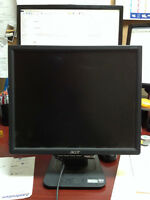 """Acer 17"""" flat screen monitor"""