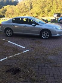 Peugeot 407 HDI sport. Updated sat nav, folding mirrors, very high spec.