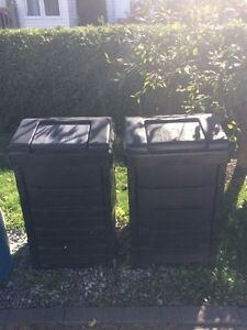 2 bacs à compost