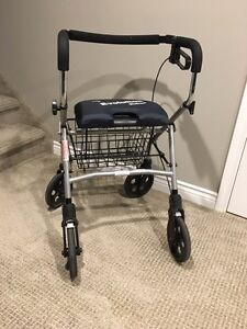 Evolution walker for tall person