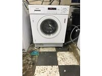 Hoover washer dryer built in
