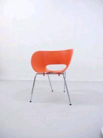 Mid Century Look 90s Vintage Ron Arad by Vitra Orange Tom Vac Chair