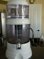 Santevia Countertop Water Filter System and Dispenser For Sale
