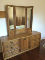 Dressers and chest of drawers (2 sets)