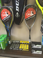 Squash Rackets for sale (Dunlop)