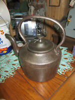 Old Cast Iron Kettle -- FROM PAST TIMES Antiques - 1178  Albert