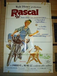 1969 WALT DISNEY MOVIE POSTER FAMILY COMEDY RACOON
