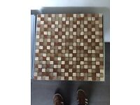Stone and glass mosaic sheets