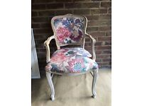 GENUINE FRENCH LOUIS ARMCHAIR FREE DELIVERY LOVELY