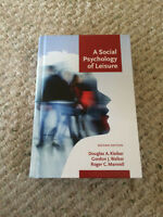 A Social Psychology of Leisure 2nd ed.