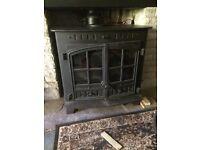 Hunters 80b multifuel/woodburning boiling stove